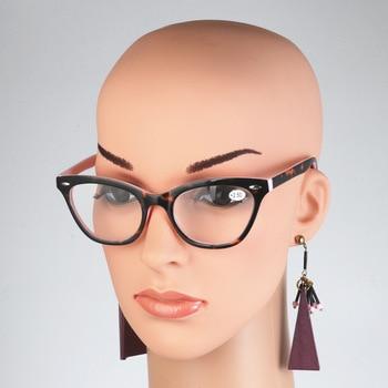 2018 Sexy Cat Eye Women Classic Leopard Pink Reading Glasses Female Farsighted Glasses Frame Presbyopia High Quality Мотоцикл
