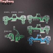 TingDong 20 adet/grup yedek denetleyici şerit devre kartı PCB iletişim Pad flex kablo için PS4 denetleyici onarım bölümü PS4 PRO