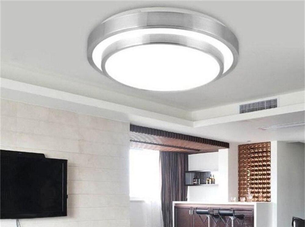 15Watt Round LED Ceiling Light Recessed Kitchen Bathroom Lamp 220V ...