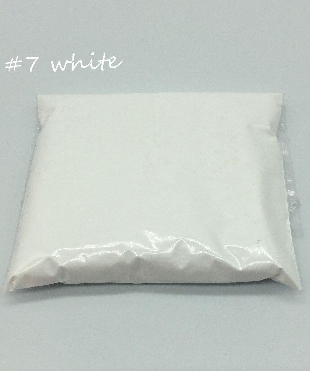 Fluorescent-Powder Pigment Nail-Art-Polish Make-Up White-Color Phosphor Under-Uv-Lights
