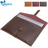 Deparq For Macbook Pro Air 13 Case Original Retro Genuine Cow Leather Bag For Macbook Sleeve