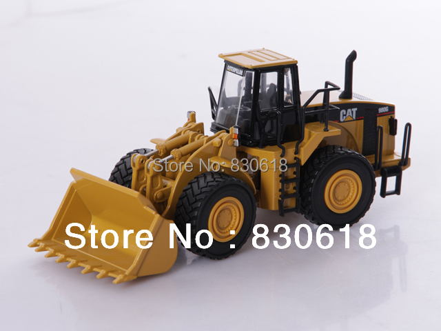 1/50 DieCast Model Norscot 55027v Caterpillar Cat 980G Wheel Loader Construction vehicles toy norscot 1 50 siecast model caterpillar cat ap655d asphalt paver 55227 construction vehicles toy