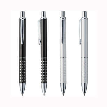 Lot 50pcs Cheap Metal Ball Pen,Aluminium Dot Grasp,Free Laser Engraved Company Logo&Text,Customized Promotional Event Gift