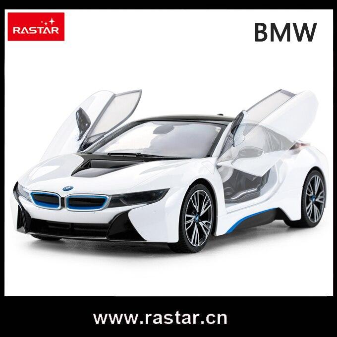 Rastar Licensed Car Remote Control 1 14 Scale Bmw I8 Rc Car Open