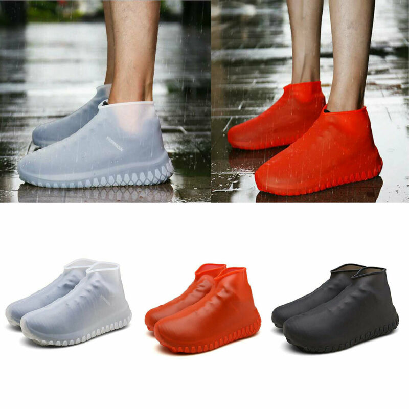 Waterproof Silicone Shoe Cover Outdoor Rainproof Hiking Skid-proof Shoe Covers