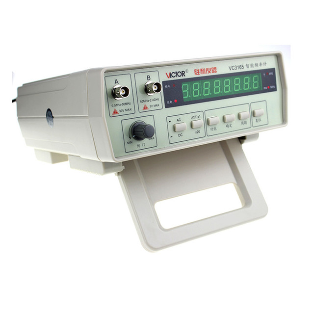 Victor vc3165 high definition multifunction cymometer for Couter definition