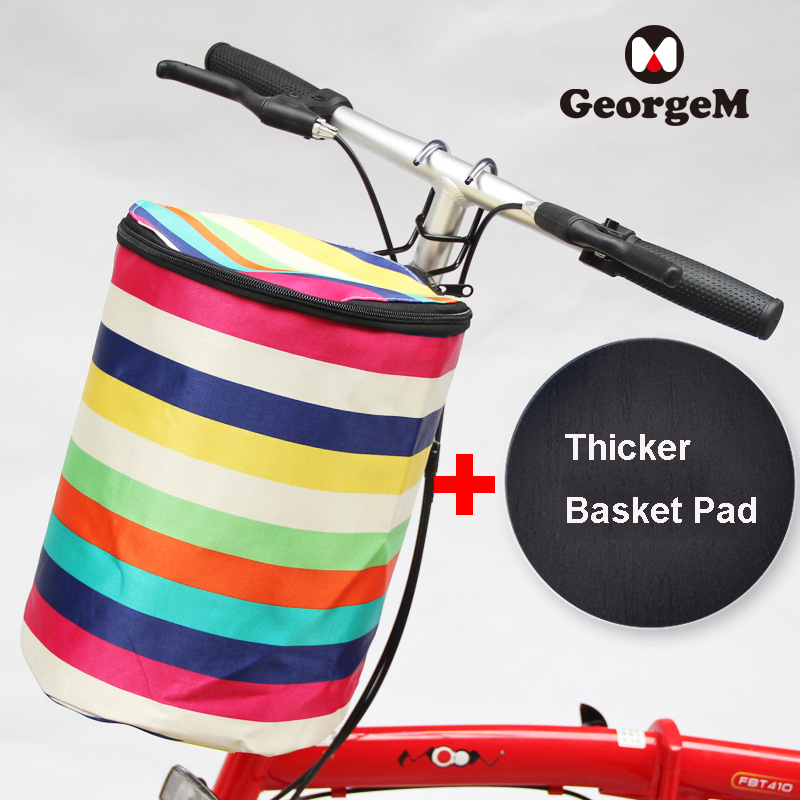 Accessoire Velo Enfant <font><b>Bike</b></font> <font><b>Bag</b></font> Bicycle Basket Pouch Hiking Front <font><b>Bag</b></font> Pet <font><b>Carrier</b></font> Cycling Top Tube Frame Panniers image