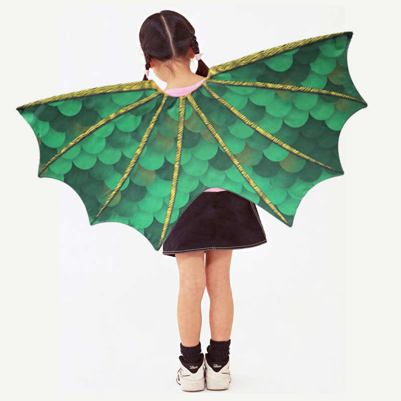 3 7 Years Old SPECIAL Dragon Wings Mask Kids Costume Birthday Gifts Dance Show Granddaughter
