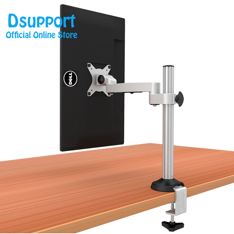 High Quality Aluminum Alloy Free Lifting LED LCD Monitor Holder Table Clamping Full Motion TV Mount