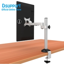 En Alliage Daluminium de haute Qualité De Levage Libre LED Moniteur LCD Support de Table De Serrage à Mouvement Complet Support TV
