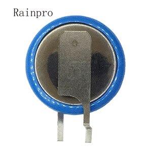 Image 2 - 2 개/몫 ml1220 1220 3 v 18mah 버튼 충전식 리튬 배터리 리튬 이온 배터리 다리 피트 발