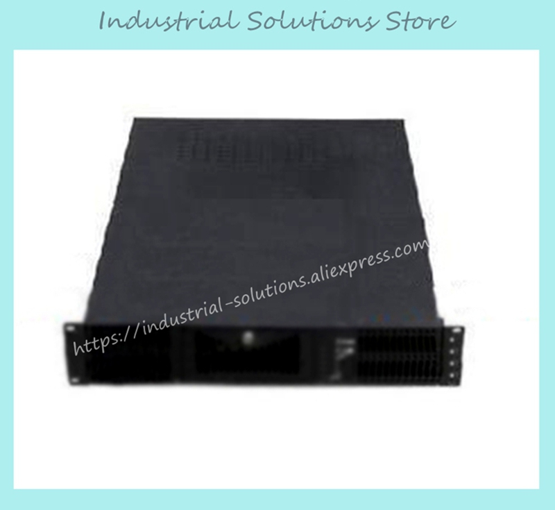 New 2U Computer Case 2U Server Computer Case Plate 530mm new 2u industrial computer case 2u server computer case 6 hard drive 2 optical drive 550 large panel high
