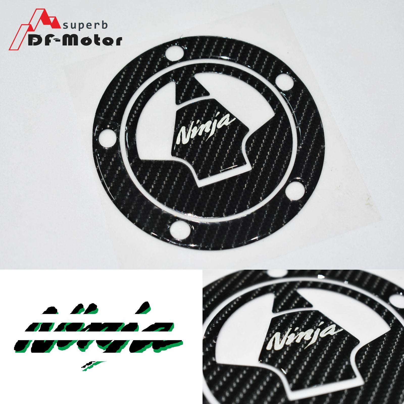 Carbon Fiber Gas Tank Cap Pad For Kawasaki Ninja 1000//Z1000SX//Z800,ER-6n//ER-6
