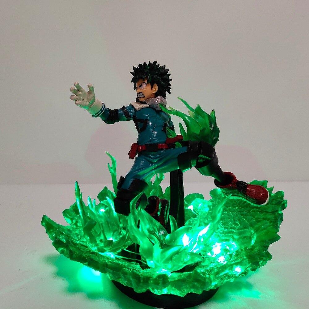 luz da noite boku nenhum herói academia anime lâmpada