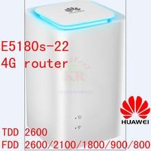 Huawei e5180 e5180s-22 4g 2g 3g lte de 150 mbps desbloqueado novo roteador voip encaixotado pk b593 e5172 b880 b890 e589
