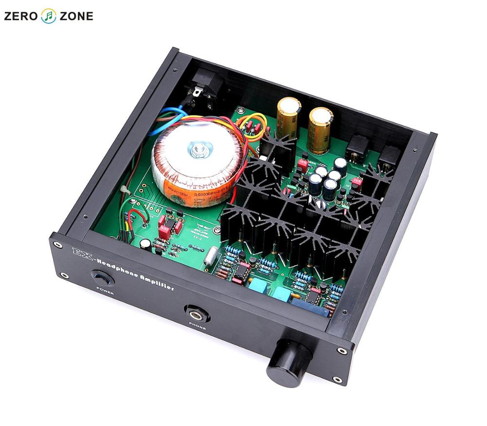 GZLOZONE Finished EX-2 Headphone Amplifier Base On Lehmann Circuit VER 3.0 Amp