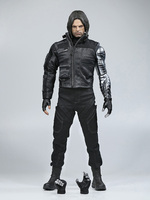 1/6 Winter Soldier Bucky Barnes Z Mechanicznego Ramienia Civil War Figurki Kapitan Amerykański Bojowy Garnitur Wersji Box Set
