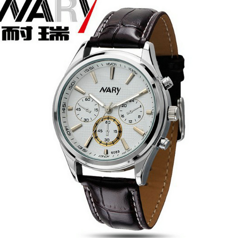 The new fashion business casual watch belt white-collar students watch lovers