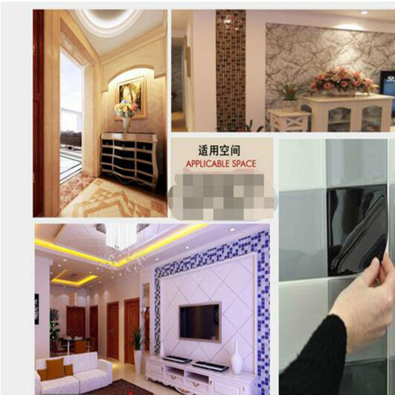 Aliexpress.com : Buy Fancy fix Vinyl 3d wall tile peel and stick ...
