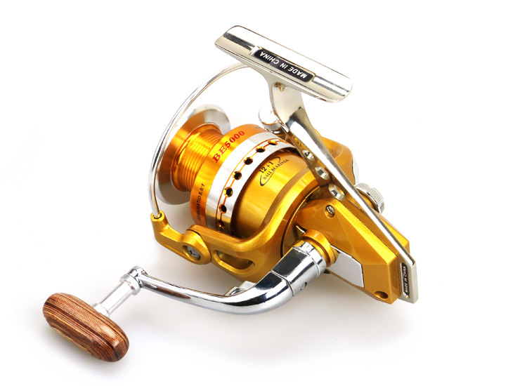 BE1000 to7000 Series Full Metal Spinning Reel Moulinet de pêche - Pêche - Photo 3