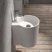 Corian настенный умывальник для ванной комнаты, твердая поверхность, ручная раковина, гардеробная, туалетный столик, раковина RS38479