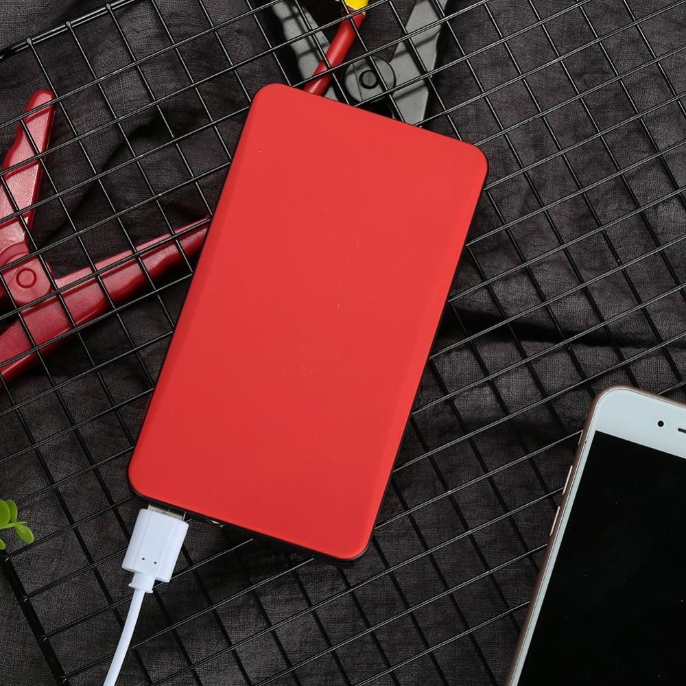Vehemo 12 V 18000 mAh multifonction Mini voiture Portable alimentation de secours pour voiture saut démarreur batterie externe démarrage ordinateur Portable téléphone