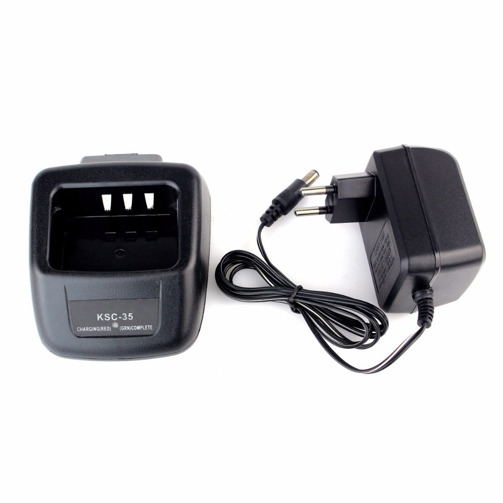 New KSC-35 Li-ion Rapid Charger For KENWOOD KNB-45L KNB-45 For TK-U100 Li-ion Battery Charger 110V/220V