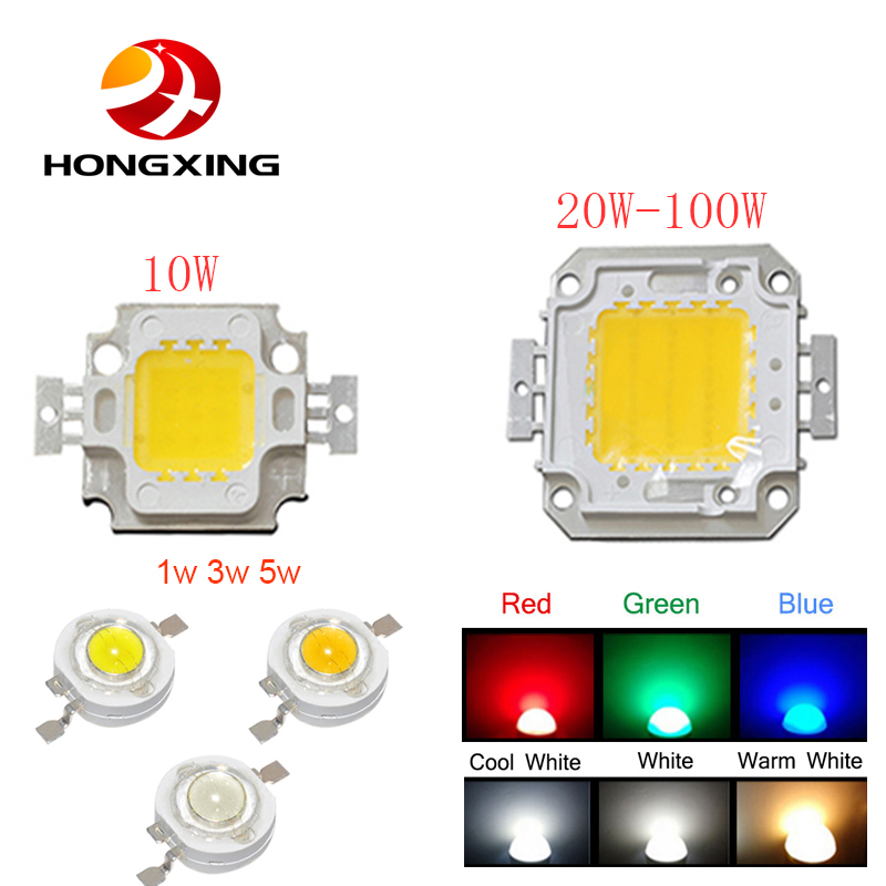 High Power LED Chip 1W 3W 5W 10W 20W 30W 50W 100W COB LED Natural White 4000K - 4500K for DIY LED Floodlight Spotlight бензиновая виброплита калибр бвп 20 4500