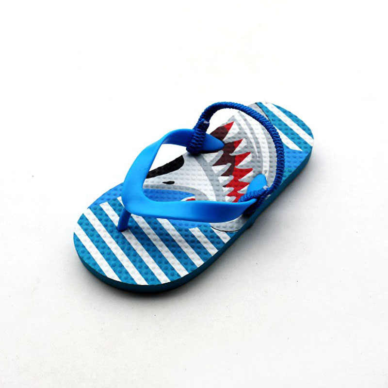 cdbd9c864 ... Boys Sea Slipper Kids Beach Flip Flops Sandals for Boy Shark Slippers  Kid Water Shoes Children ...