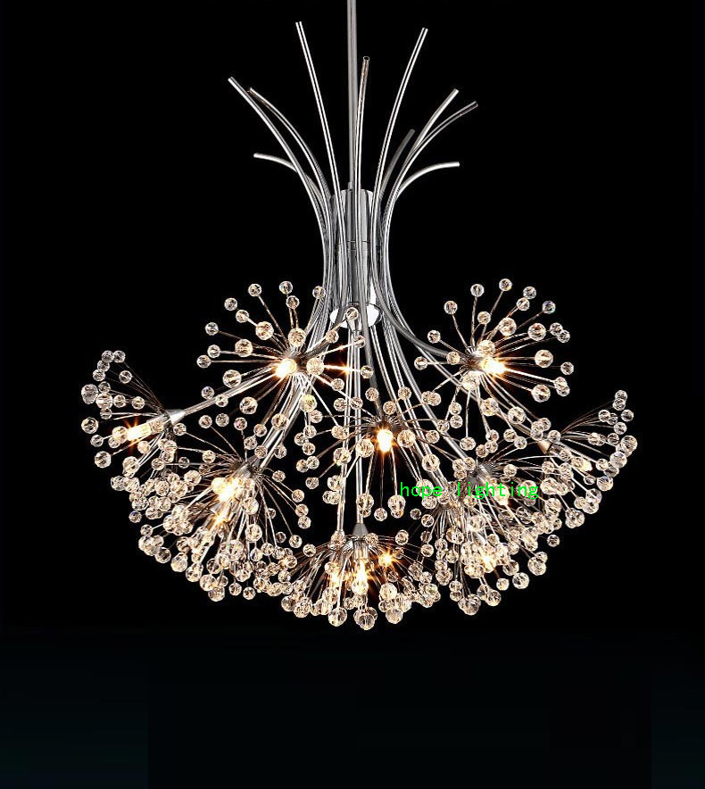 Modern Crystal Lighting Chandelier Living Room Modern Led Crystal Chandelier Kitchen Leaf Crystal Chandelier Bedroom