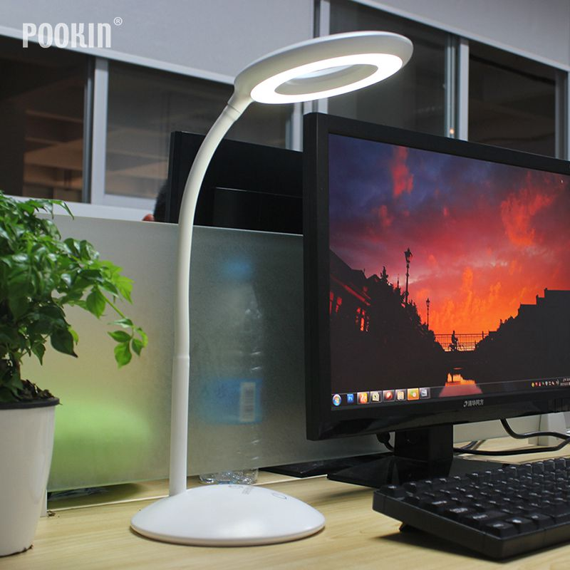 Flexible Table Lamp Led Desk Lamp Foldable Eye Protection Dimmable Reading Lamp For Bedroom Led Light 3-Level BrightnessFlexible Table Lamp Led Desk Lamp Foldable Eye Protection Dimmable Reading Lamp For Bedroom Led Light 3-Level Brightness
