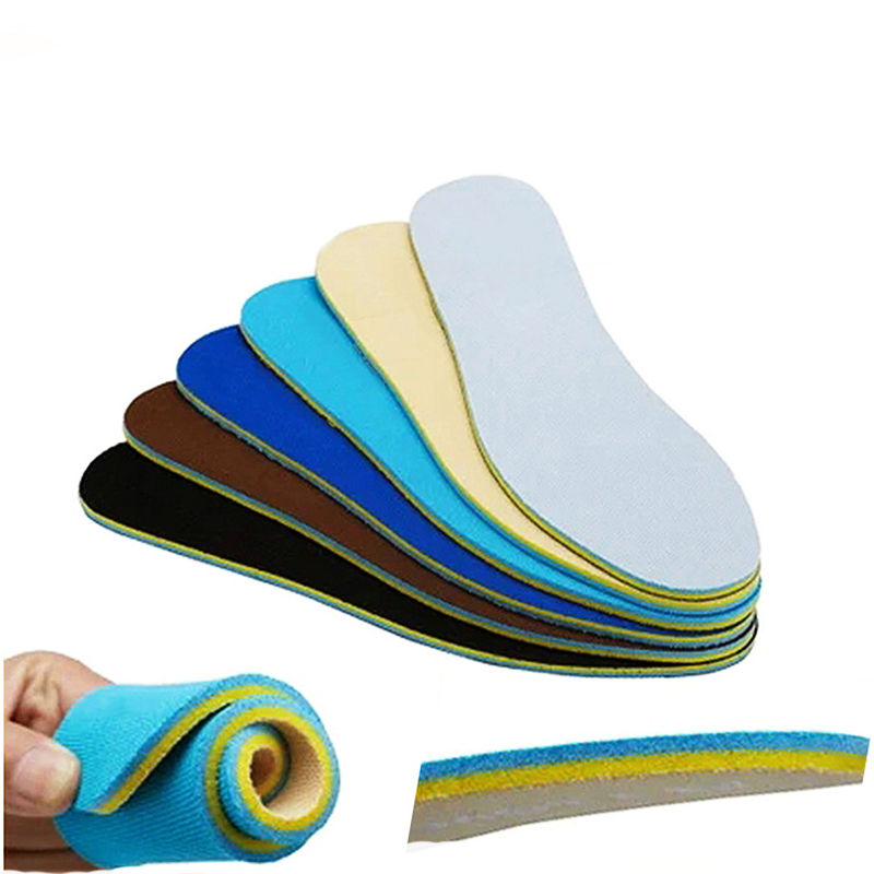 1 Pair Memory Shoes Insoles Pad Running Cushion Soft Pain Relief Deodorant Sport