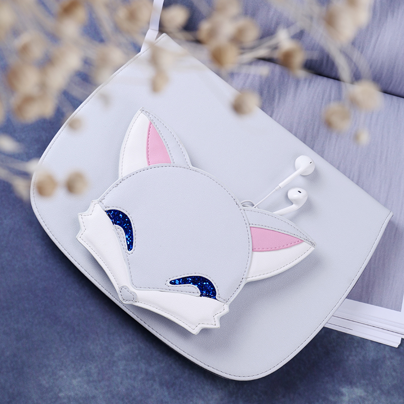 2017 Cute Fox Smart PU Leather Case Flip Cover For Apple iPad 9.7 2017Tablet Case Cover Protective Bag Skin+storage bag GD jialong mini 4 smart pu leather case for apple ipad mini 4 7 9 tablet flip cover soft tpu back cover cute little girl yao