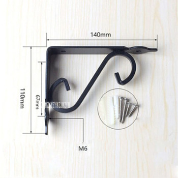 96pcs/lot New Arrival European-style Iron Triangle Bracket Wall Right Angle Bracket Wood Panel Shelves Fixed Load Bearing Frame