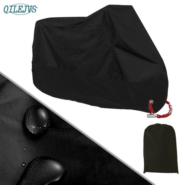 ¡Oferta! Protector UV impermeable para moto al aire libre, cubierta para lluvia y polvo para motocicleta, cubierta L/XL/2XL para motos, Scooters ATV, AUG17