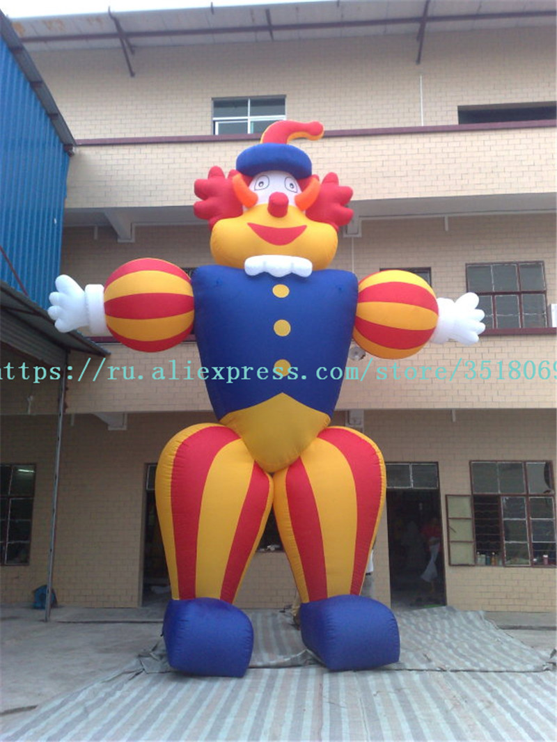 Sell 6 M High Oxford Cloth For Wacky Funny Clown Characters, Cartoon Clown Models, For Commercial Display Or Otherwise.