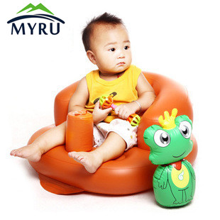 1-3 Years Old Children Sofa Portable Baby Chair Inflatable Baby Seat for Kids pvc baby sofa inflatable kids training seat bath dining chair
