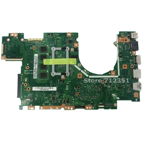 X402CA материнская плата 1007 CPU 4 Гб RAM REV2.1 для ASUS X502CA X502C F502CA X402C F402CA X402CA материнская плата для ноутбука X402CA материнская плата