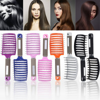 Environmentally Friendly Elegant Salon Professional Vent Hair Brush Anti-Static Hair Styling Scalp Massage Comb Beauty Hair Care Health & Beauty