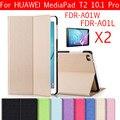 10 Цветов Цветной Рисунок Pu Кожаный Чехол Подставка Обложка Щит Для Huawei MediaPad T2 10.0 Pro FDR-A01L FDR-A01W FDR-A03L A04L