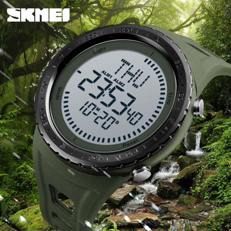 Sports Watches Men Compass Waterproof Outdoor Countdown Repeater Alarm World Time Digital Wristwatches Relogio Masculino SKMEISports Watches Men Compass Waterproof Outdoor Countdown Repeater Alarm World Time Digital Wristwatches Relogio Masculino SKMEI