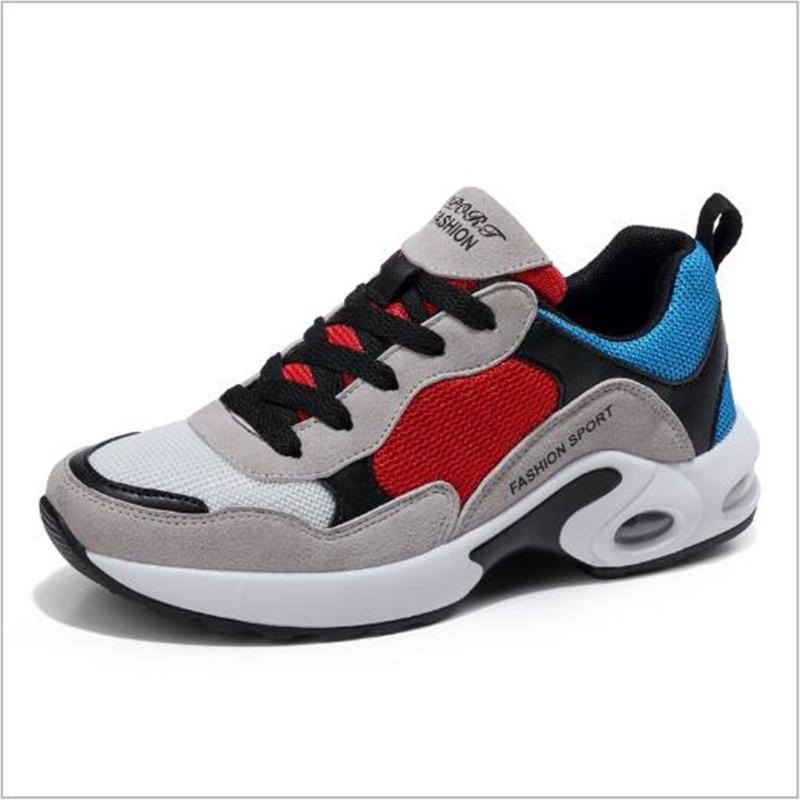 Prodyšné Air Mesh dámské běžné boty 2018 jarní tenisky - Dámské boty