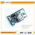 100% novo 256 mb ddr 128bit gf5500 carte graphique pc pci placa gráfica placa de vídeo placa de vídeo para nvidia s-video