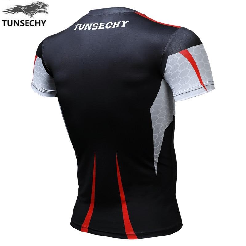 TUNSECHY merek asli desain merek pria naik jaket lengan pendek - Pakaian Pria - Foto 2
