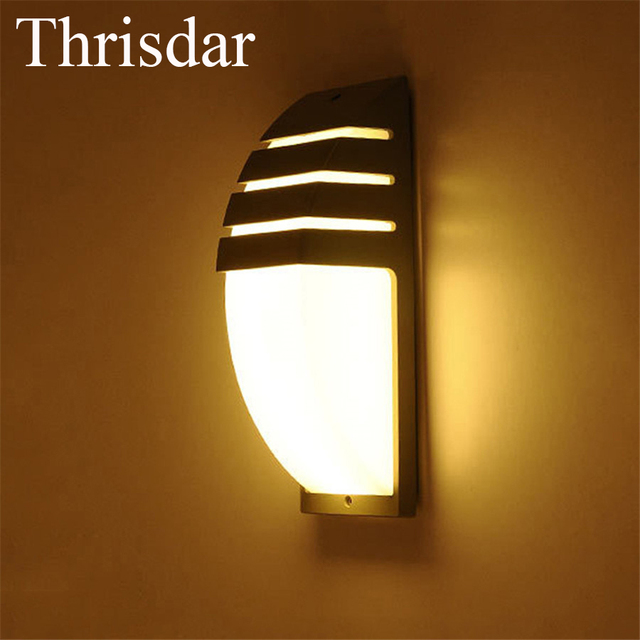 Thrisdar 2PCS Waterproof LED Wall Sconce Light Fixture Hotel KTV ...