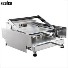 XEOLEO Burger baking machine Hamburger making oven Non-stick Commercial Stainless steel maker 800W