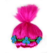 Cosplay Hair Wig Party Troll Elf Pixie Festival Adult Colourful Style Cartoon Tr