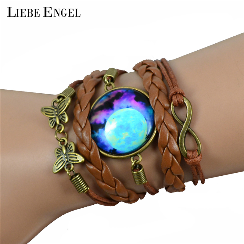 LIEBE ENGEL Multilayer Braided Bracelet s