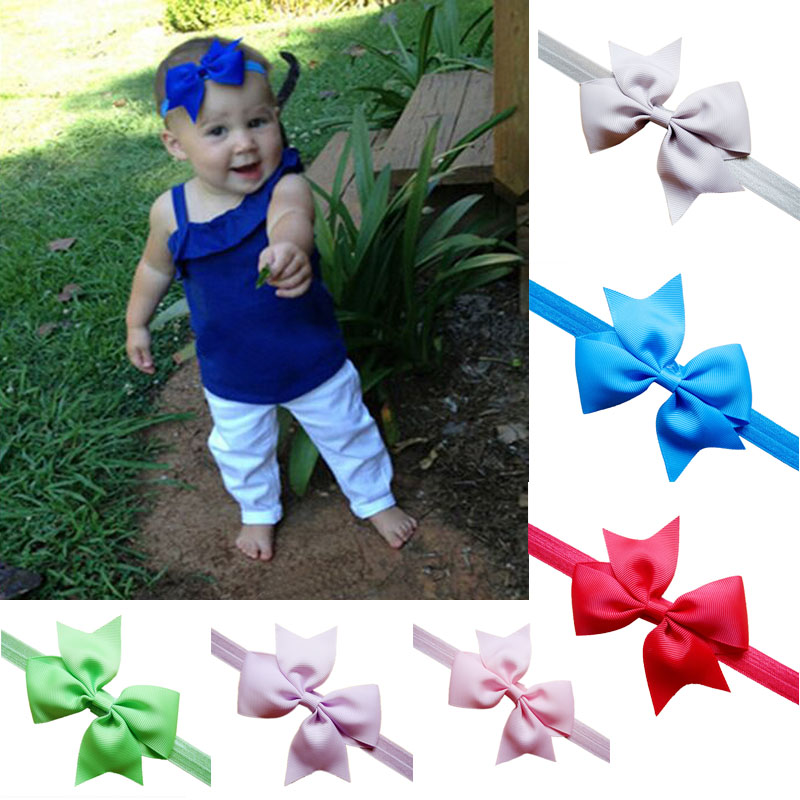 Girls Hair Accessories Kids Elastic Hair Bands Bow Baby Girl Headbands Girls Hair Decorations Infant Girl Hair Accessories Great