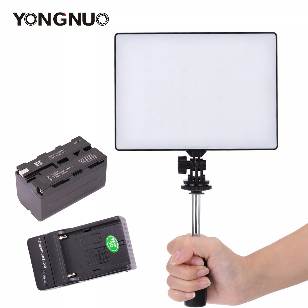 YONGNUO Official YN300 Air YN-300 Air Pro LED Camera Video Light with Battery Charger kit photography Light for Canon Nikon